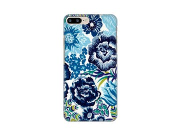 IPhone case 7, 7 + Liberty Langley blue iPhone case