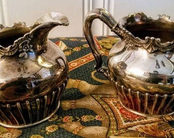 Antique Reed & Barton Silverplate Set