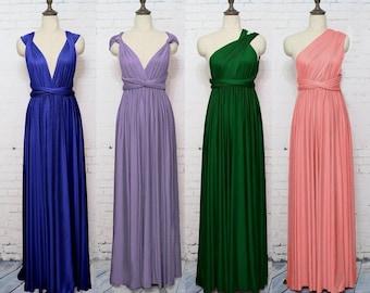 Infinity Bridesmaid Dress, Infinity Dresses, Infinity Dress, Prom, Wrap Dress, Formal Dress, Maxi Dress, Floor Length, Long Dress