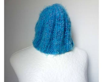 Small Cap Heather blue Turquoise