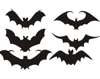 Bat Cut Outs
