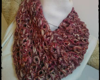 100% Peruvian wool neck warmer