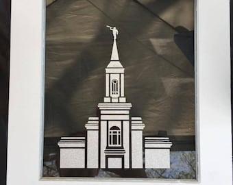 Framed Temple Art