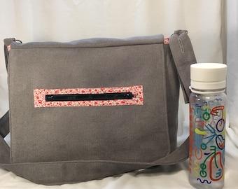 Grey Diaper Bag
