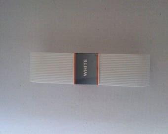 2 m 50 red elastic width 3 cm