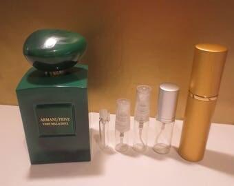 Armani/Prive - Vert Malachite 1-10ml travel samples, niche perfume