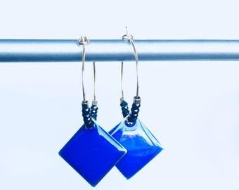Elegant hoop earrings & pendants! These unusual earrings earrings fancy Bohemian style