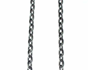 1 m black chain worked 4x3.5mm ACCH43