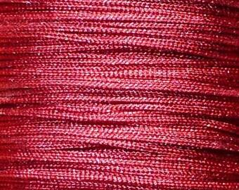1 M Fil 0.8 mm bordeaux (meter) ACFI14 Burgundy nylon