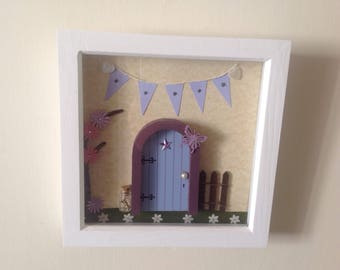 Fairy door box frame