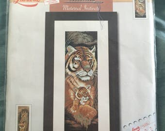 "Lanarte Animals Collection Cross Stitch Kit   ""Maternal Instincts""  ****RARE****  #34871"