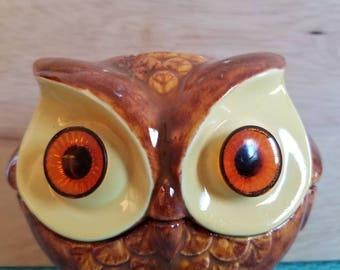 Bright eyed owl #1