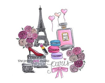 SEMI-rigid PLACEMAT, ORIGINAL, plastic, WASHABLE and durable - stroll in Paris 1.