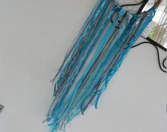 20 cm in diameter blue tone dream catcher