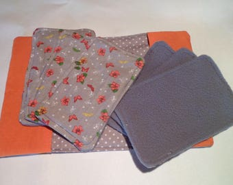 cleansing wipes and envelop