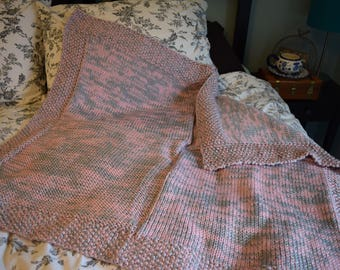 Briar Rose Knit Baby Blanket