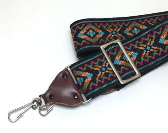 Vintage Camera Strap - Southwest Pattern