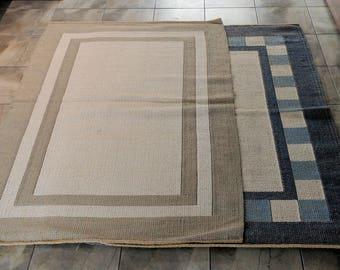 Handmade Brazilian Jute and Cotton Rugs