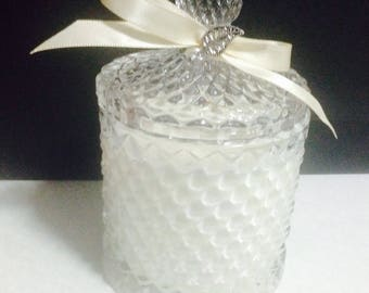 Crystal Jar Scented Soy Candle