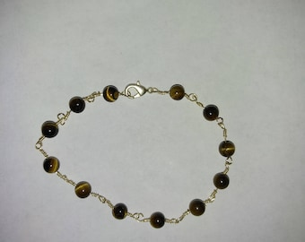 Women's Tiger Eye Bracelet