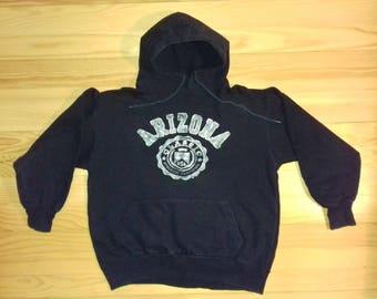 1990s Vintage Arizona Sweatshirt Hoodies / Hip Hop / Rap / Hippie / 90s / 80s / Retro / DJ / Adidas Nike Kappa Puma Hilfiger Champion