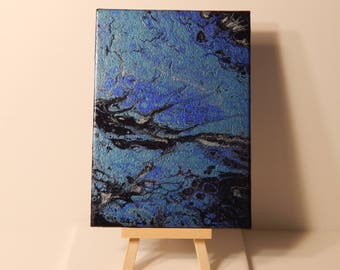 "Fluid Art Painting - ""Fairy Tale Marsh"""