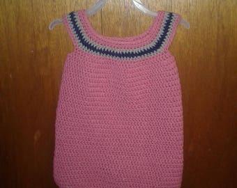 Crocheted Baby Girl Dress Size 1T - 2T