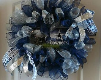 Dallas Cowboys NFL Wreath