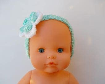headband with flower for doll
