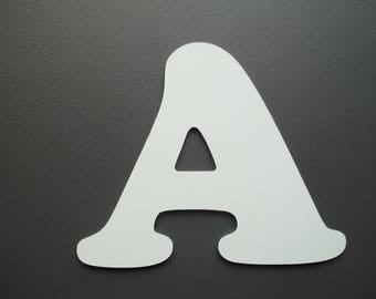 Metal aluminum COOPER BLACK letter. all letters available