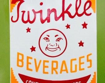 Vintage Billboard of Twinkle Beverages