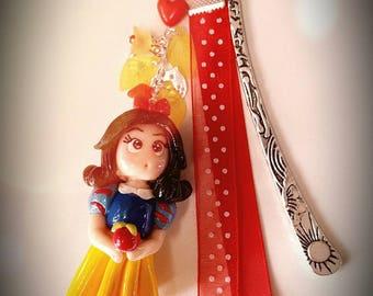 Large snow white theme bookmarks