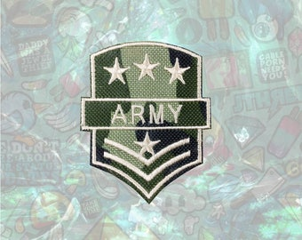 ARMY Patch US Military Patch Iron on Patch Sew On Patches back patch