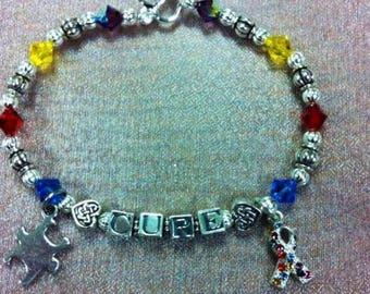 Autism awareness bracelets personalized