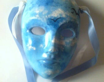 Mask decor/Decorative mask / hang or place