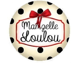 """""""Miss loulou"""" 25mm"""