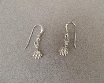 Sterling Silver earrings flowers