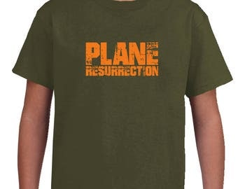 Kids Plane Resurrection T Shirt
