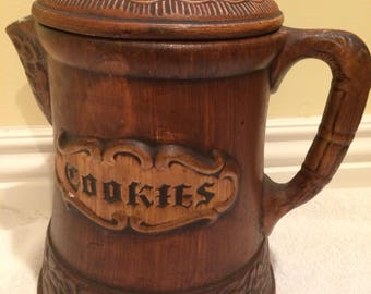 Vintage Treasure Craft Cookie Jar