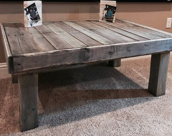 Distressed coffee tables Etsy