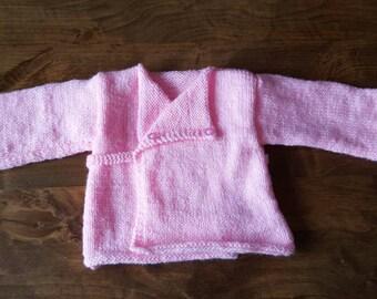 Pink heart cache size 3 months