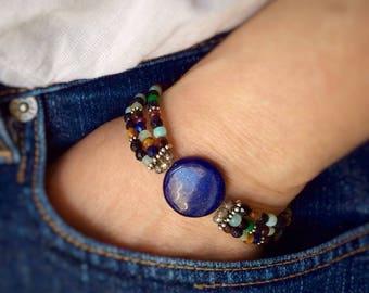 Bracelet Lapis Lazuli Silver 925/1000