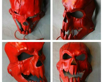 Leather Mask Jack the bloody demon