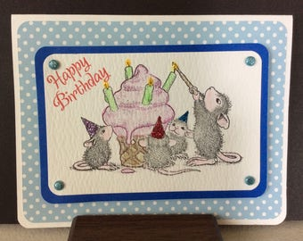 Hand Made Birthday Greeting Card