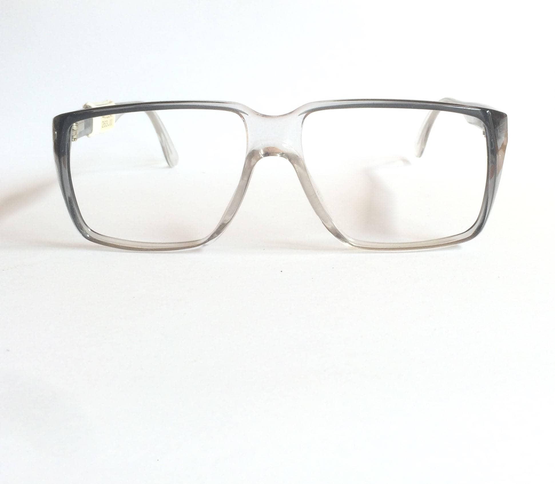 Deadstock vintage Rodenstock Exclusiv 365 Flat Top Glasses Grey ...