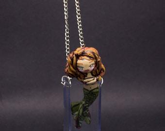 Necklace Little Mermaid zen in the jar