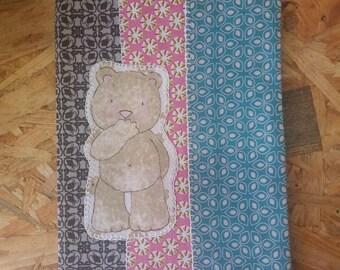 Protects health book Teddy bear