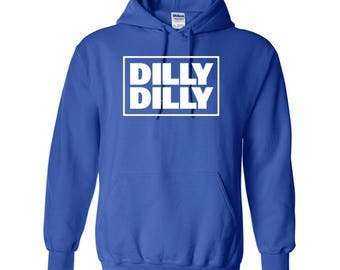 DILLY DILLY Square Design Unisex Hoodie
