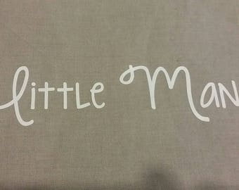 "Fusible pattern for ""Little Man"" fabric"