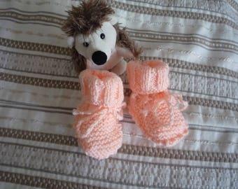 Premature baby booties